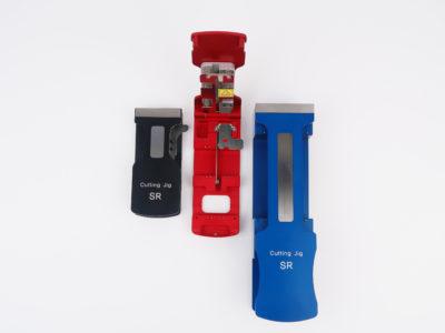 SR.SCJ.108 8mm Peel Off Tape Cutting Tool (Black)